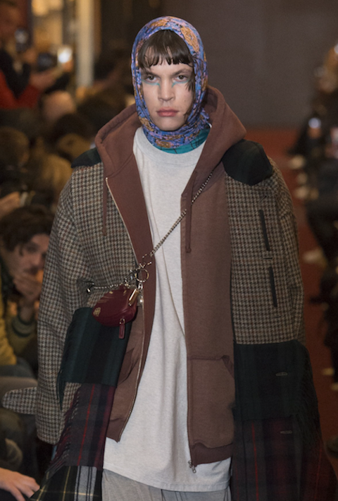 Queen Accessory trend Male Headscarf Vetements AW18