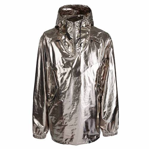 Menswear product of the week Pretty Green silver spaceman jacket