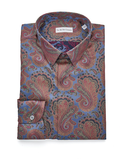 Paisley Shirt Silk The Silk Shirt Company