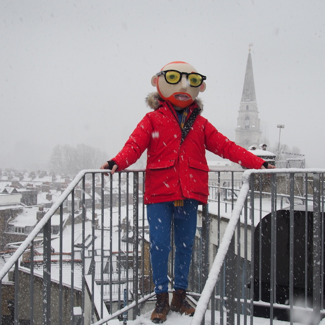 OOTD menswear parka coat Nobis Beast From The East