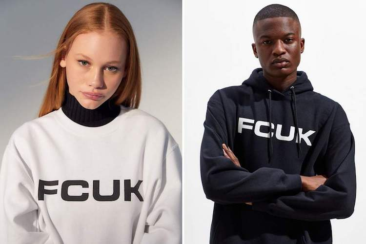 FCUK returns Urban Outfitters