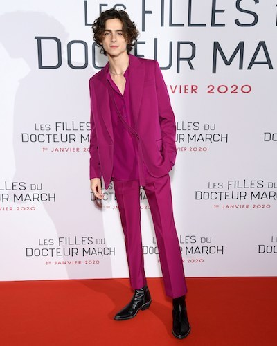 best dressed timothee chalamet 2019