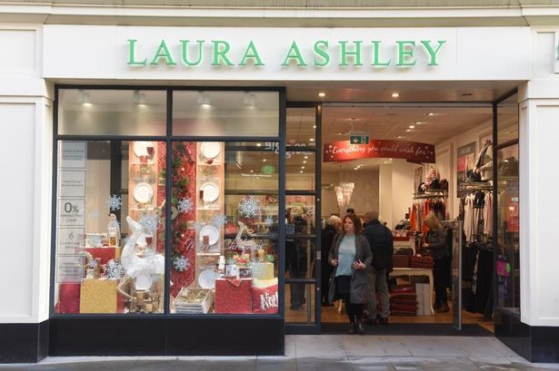 coronavirus speeding up retailers end of life Laura Ashley