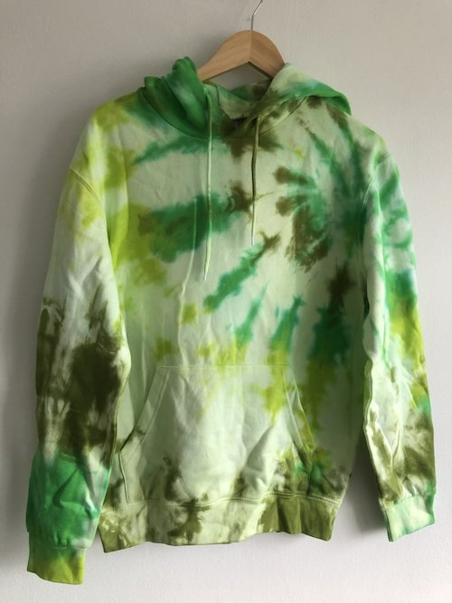 tie dye menswear stain shade James Brackenbury