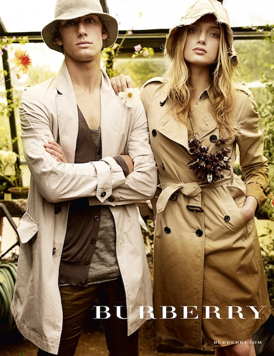 the dig film Burberry 2009 ad campaign
