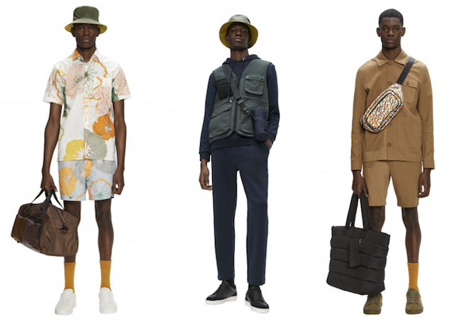 ted baker summer 2021 lookbook menswear